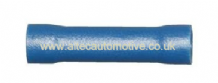 BLUE BUTT SPLICE CONNECTOR ( Conductor size 1.1mm2 - 2.5mm2)